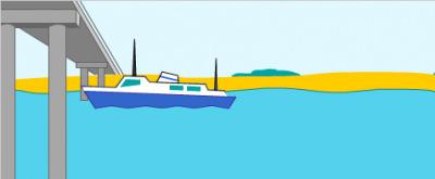 Riverboat mast